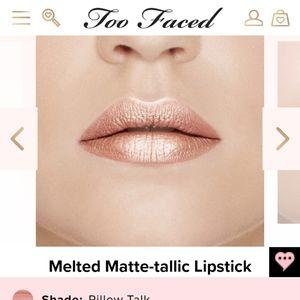 Too Faced Melted Matte Metallic Liquid Lipstick